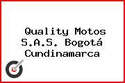 Quality Motos S.A.S. Bogotá Cundinamarca