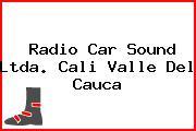 Radio Car Sound Ltda. Cali Valle Del Cauca