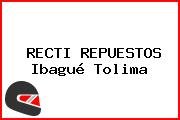 RECTI REPUESTOS Ibagué Tolima