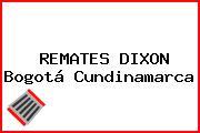REMATES DIXON Bogotá Cundinamarca