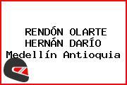 RENDÓN OLARTE HERNÁN DARÍO Medellín Antioquia