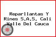 Reparllantas Y Rines S.A.S. Cali Valle Del Cauca