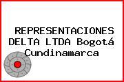 REPRESENTACIONES DELTA LTDA Bogotá Cundinamarca