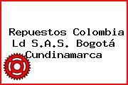 Repuestos Colombia Ld S.A.S. Bogotá Cundinamarca
