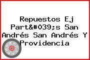 Repuestos Ej Part's San Andrés San Andrés Y Providencia