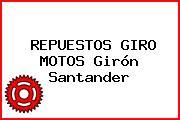 REPUESTOS GIRO MOTOS Girón Santander