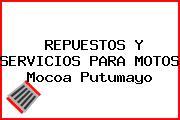 REPUESTOS Y SERVICIOS PARA MOTOS Mocoa Putumayo