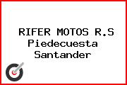 RIFER MOTOS R.S Piedecuesta Santander