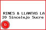 RINES & LLANTAS LA 20 Sincelejo Sucre