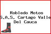 Robledo Motos S.A.S. Cartago Valle Del Cauca