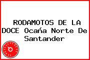 RODAMOTOS DE LA DOCE Ocaña Norte De Santander