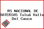 RS NACIONAL DE BATERIAS Tuluá Valle Del Cauca