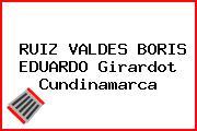 RUIZ VALDES BORIS EDUARDO Girardot Cundinamarca