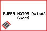 RUPER MOTOS Quibdó Chocó
