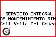 SERVICIO INTEGRAL DE MANTENIMIENTO SIM Cali Valle Del Cauca