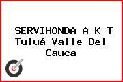 SERVIHONDA A K T Tuluá Valle Del Cauca
