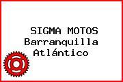 SIGMA MOTOS Barranquilla Atlántico