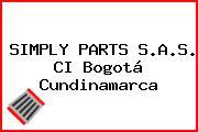 SIMPLY PARTS S.A.S. CI Bogotá Cundinamarca
