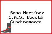 Sosa Martínez S.A.S. Bogotá Cundinamarca