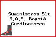 Suministros Slt S.A.S. Bogotá Cundinamarca