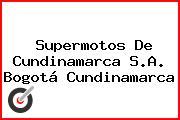 Supermotos De Cundinamarca S.A. Bogotá Cundinamarca