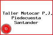 Taller Motocar P.J. Piedecuesta Santander