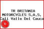 TR BRITANIA MOTORCYCLES S.A.S. Cali Valle Del Cauca