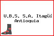 U.B.S. S.A. Itagüí Antioquia
