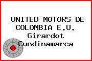 UNITED MOTORS DE COLOMBIA E.U. Girardot Cundinamarca