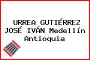 URREA GUTIÉRREZ JOSÉ IVÁN Medellín Antioquia