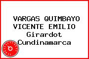 VARGAS QUIMBAYO VICENTE EMILIO Girardot Cundinamarca