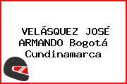VELÁSQUEZ JOSÉ ARMANDO Bogotá Cundinamarca