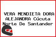 VERA MENDIETA DORA ALEJANDRA Cúcuta Norte De Santander